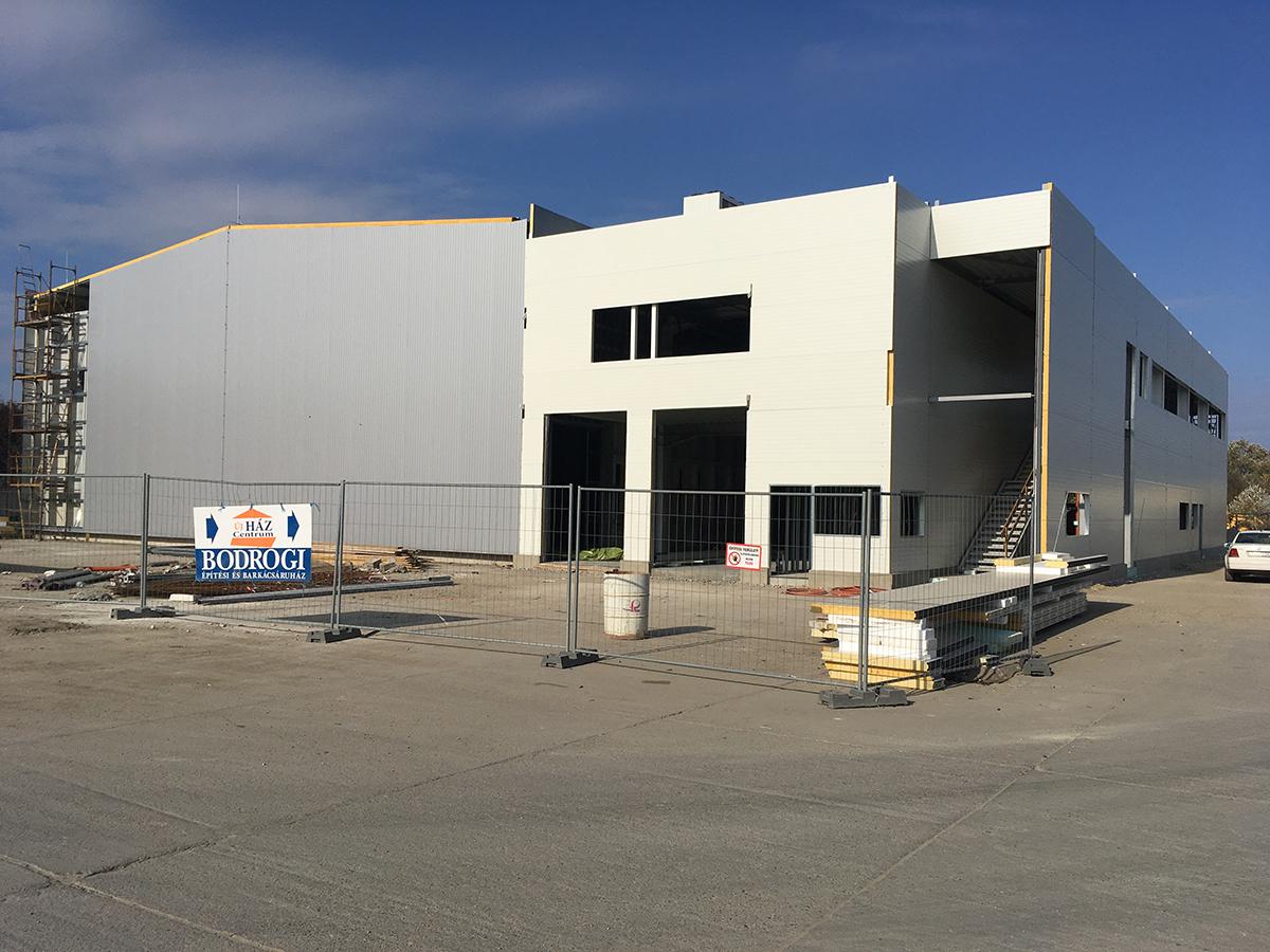 Célegyenesben a Goodwill Pharma új szegedi logisztikai központja