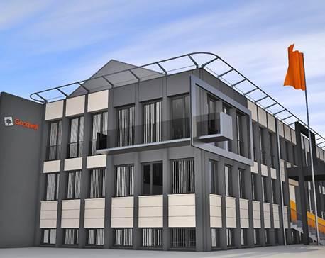 Jól halad az új irodaház és telephely építése Szabadkán