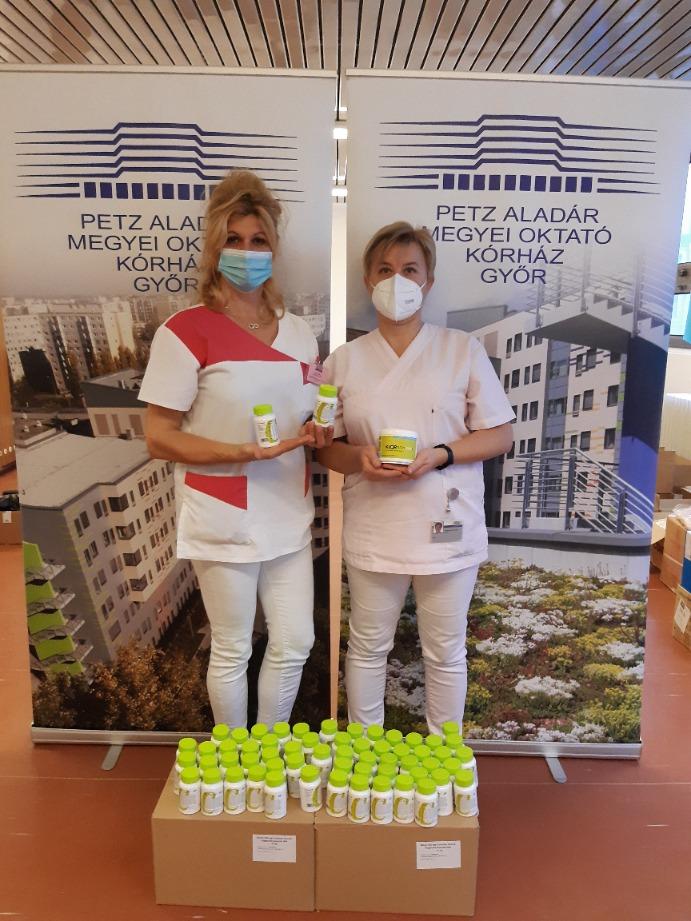 Az egészségügyben dolgozók igazi Hősök – Győr