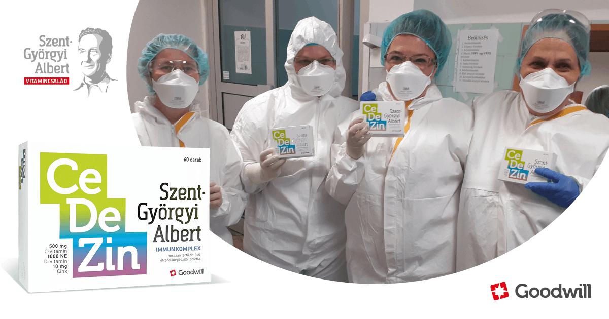 4500 doboz immunkomplex vitaminnal támogattuk hazánk egészségügyi dolgozóit