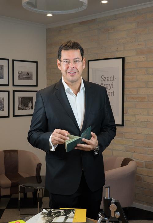 Dr. Jójárt Ferenc, a Goodwill Pharma Kft. tulajdonosa