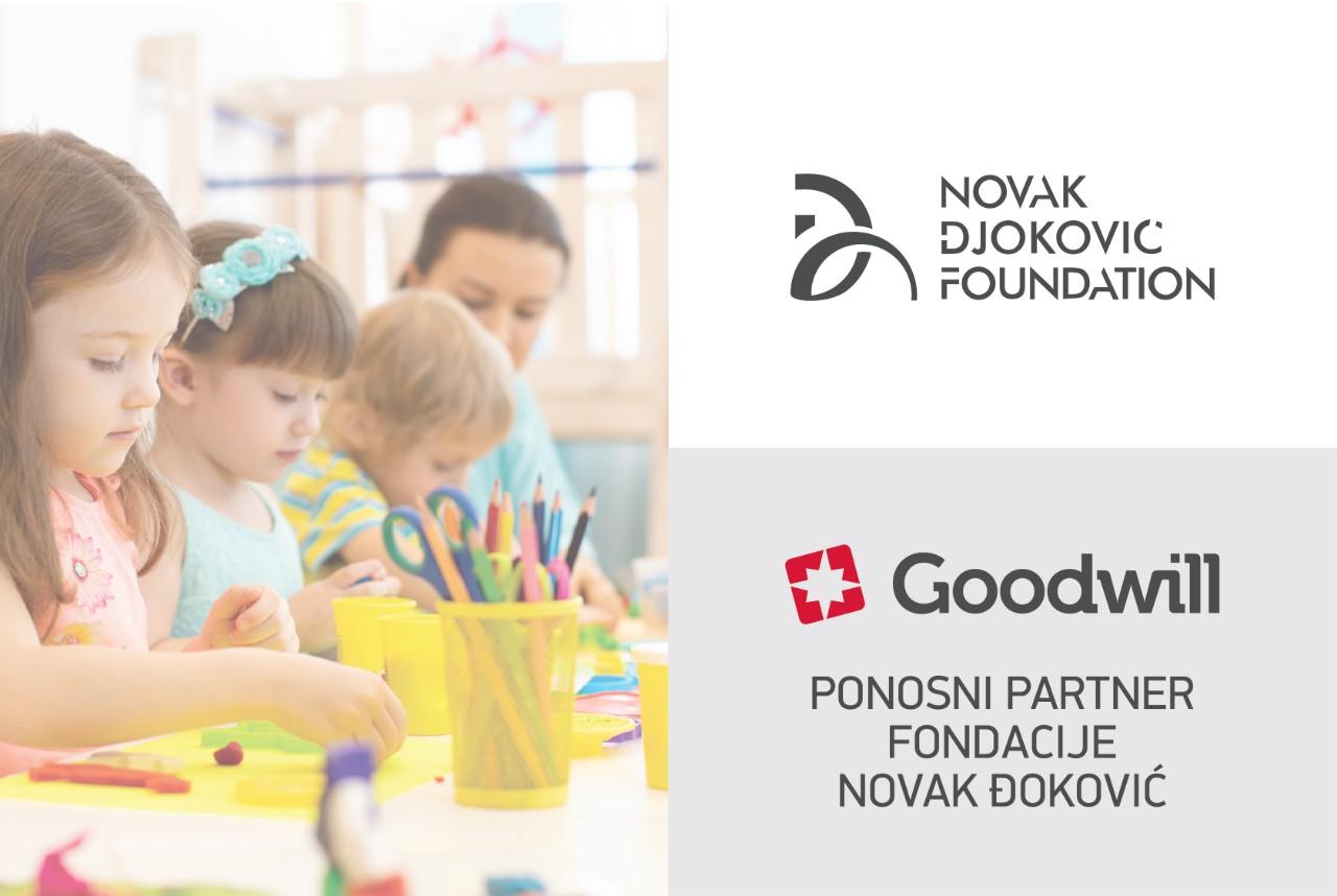 Goodwill Pharma ponosni partner fondacije Novak Đoković – zajedno za srećnije detinjstvo!