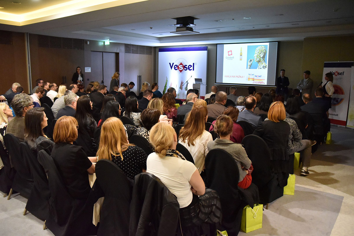 Goodwill Pharma Serbia organizes the launch symposium of Vessel, a new therapeutic option