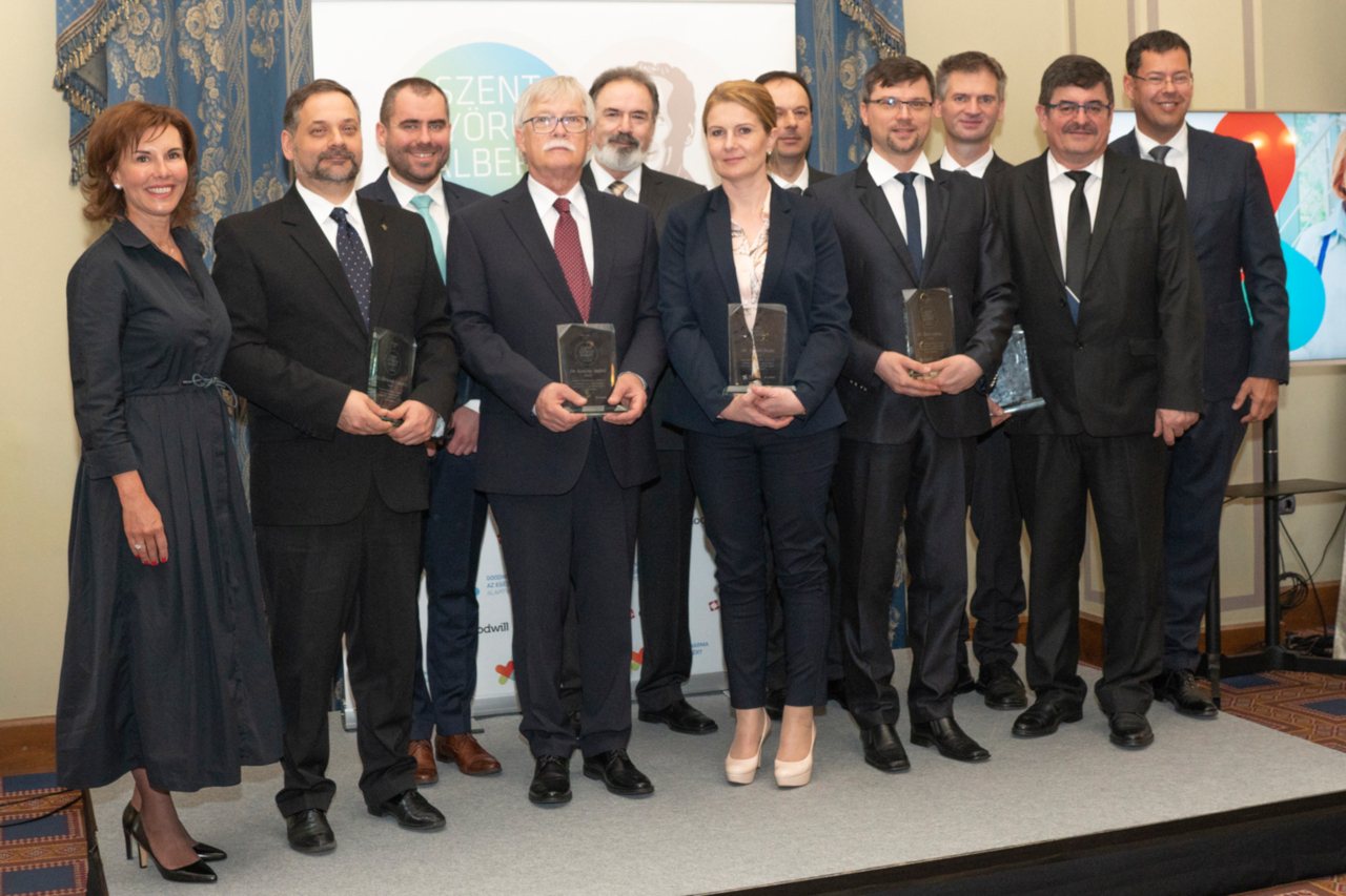 Goodwill Pharma Foundation for Health organises the second Albert Szent-Györgyi Doctors' Award
