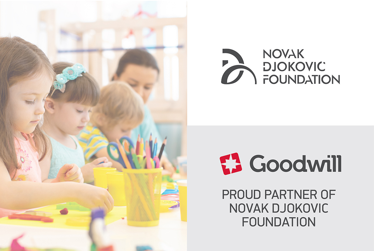 Goodwill Pharma proud partner of Novak Djokovic foundation  – together for a happy childhood!